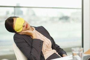 Những sai lầm dễ mắc khiến dân văn phòng dù say giấc ngủ trưa nhưng người càng thêm mệt