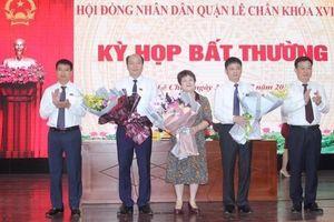 HĐND quận Lê Chân bầu Phó Chủ tịch UBND quận