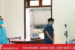 Vận chuyển ma túy thuê lấy 16 triệu đồng, 2 đối tượng bị tòa án ở Hà Tĩnh tuyên 15 năm tù