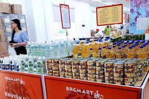 Hệ thống BRGMart tăng 300% lượng dự trữ nhóm hàng hóa thiết yếu ứng phó Covid-19