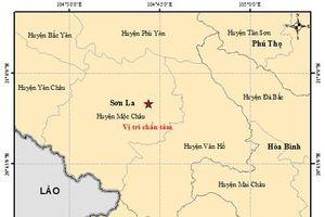 Tiếp tục xảy ra động đất tại Sơn La