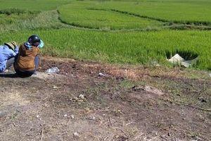 Rời khỏi hiện trường, bỏ mặc nạn nhân chết dưới ruộng lúa sau tai nạn giao thông
