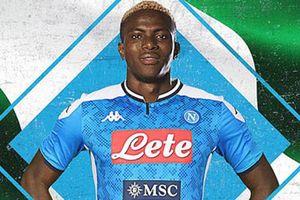 CHÍNH THỨC: Osimhen chuyển tới Napoli với mức giá kỷ lục