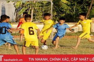 Cầu thủ nhí Hà Tĩnh 'tiệm cận' sân chơi chuyên nghiệp