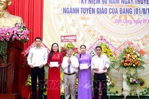 Ngành Tuyên giáo Vĩnh Long góp phần thực hiện thành công đường lối đổi mới của Đảng