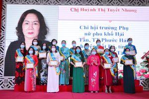 Tôn vinh 50 chi hội trưởng phụ nữ tiêu biểu Cụm thi đua Đông Nam bộ