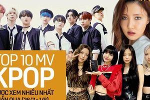 10 MV Kpop được xem nhiều nhất tuần: BLACKPINK tăng tốc cản màn cướp ngôi vương từ ATEEZ; Hwasa vượt mặt TWICE lẫn Stray Kids
