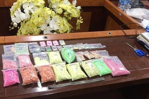 Phá đường dây ma túy cực 'khủng', thu 120 kg ma túy tổng hợp cùng 19 bánh heroin