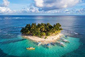 Siargao, hòn đảo hình giọt nước đẹp nhất thế giới