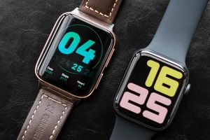 Oppo Watch đọ dáng cùng Apple Watch Series 5