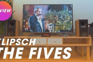 Klipsch The Fives – Đôi loa active mạnh ấn tượng, thay thế cho cả dàn 2 kênh và soundbar