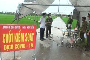 Tài xế taxi chở người nhiễm COVID-19 ở Thái Bình có kết quả âm tính với SARS-CoV-2