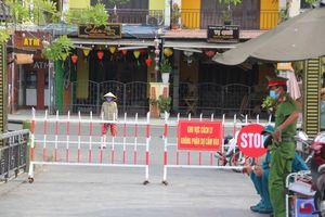 Quảng Nam: Phong tỏa tạm thời một số khu vực có nguy cơ cao lây nhiễm COVID-19