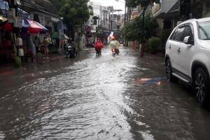 Hải Phòng: Nhiều tuyến phố lụt sau cơn bão số 2