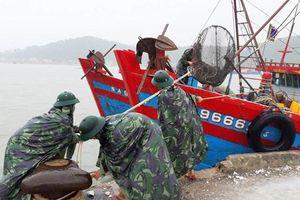 Bắc Trung Bộ: Mưa xối xả, nước các hồ đập dâng nhanh