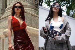 Chi Pu mặc áo Gucci giống Mai Davika, Châu Bùi cầm ví 1.270 USD
