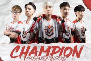 Cerberus lập kỷ lục vô địch PUBG Việt Nam 3 lần liên tiếp
