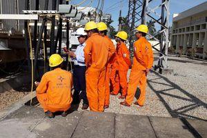 PC Quảng Ngãi tập huấn thiết bị máy đo phóng điện cục bộ