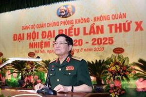 Đại tướng Ngô Xuân Lịch dự Đại hội đại biểu Đảng bộ Quân chủng Phòng không - Không quân lần thứ X