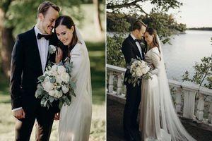 Hình ảnh nữ Thủ tướng Phần Lan xinh đẹp trong đám cưới mùa COVID-19
