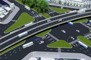 Hình ảnh thiết kế cầu vượt nút giao La Thành - Nguyễn Chí Thanh