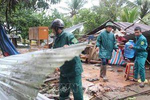 Các địa phương khẩn trương khắc phục hậu quả của bão số 2