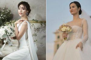 Bất ngờ khi bóc giá váy cưới của loạt mỹ nhân Việt: Khởi My rẻ giật mình, khủng nhất là Lan Khuê