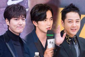 Top 20 nam diễn viên Hàn hot nhất tháng 7: Yoo Seung Ho đứng nhất, Lee Min Ho vượt Hyun Bin