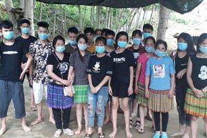 Lào Cai - Bắt giữ nhiều đối tượng nhập cảnh trái phép qua khu vực biên giới