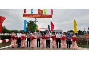 Công ty TNHH MTV Thép Miền Nam – VNSTEEL xây dựng cầu Phước Lộc tại An Giang