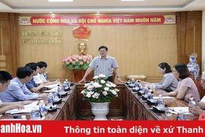 Phó Chủ tịch UBND tỉnh Mai Xuân Liêm kiểm tra công tác chuẩn bị cho kỳ thi tốt nghiệp THPT năm 2020 tại một số huyện miền núi