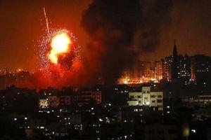 Israel tiếp tục 'dội bão' vào các mục tiêu của Hamas tại Dải Gaza