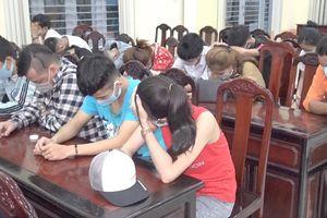 Gần 30 thanh niên 'mở tiệc' ma túy bất chấp dịch bệnh Covid-19