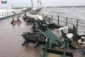 Hơn 400 căn nhà tại Kiên Giang bị thiệt hại do bão số 2