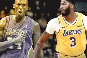 Anthony Davis 'nổi da gà' khi tái lập kỷ lục của cố huyền thoại Kobe Bryant