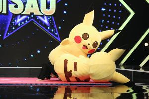 Cuộc chiến Pikachu gây náo loạn sân khấu Bản lĩnh ngôi sao