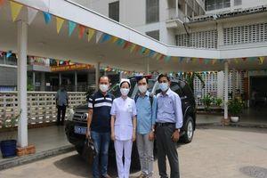 Đội phản ứng nhanh BV Chợ Rẫy tiếp tục chi viện tâm dịch