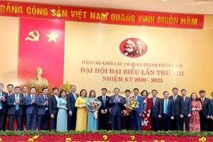 Đảng bộ Khối các cơ quan TP Hà Nội phải là Đảng bộ tiêu biểu, gương mẫu đi đầu