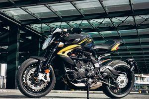 Nakedbike mới của MV Agusta sử dụng hộp số không cần bóp côn