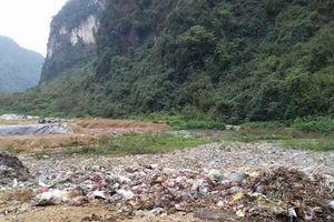 Công an Thái Nguyên bắt xe đổ trộm chất thải