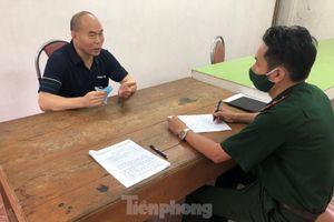 Bắt giữ người Trung Quốc nhập cảnh trái phép vào Việt Nam