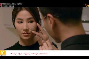 'Tình yêu và tham vọng' tập 41: Sơn vẽ hình trái tim lên mặt Linh
