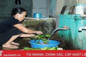 Hơn 1.000 mô hình xử lý nước thải sinh hoạt hộ gia đình ở Hà Tĩnh vận hành hiệu quả