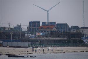 Mỹ áp thuế chống bán phá giá tháp gió của Hàn Quốc