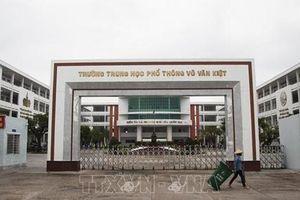 Các địa phương sẵn sàng tổ chức thi tốt nghiệp THPT an toàn, phòng dịch COVID-19 hiệu quả