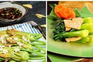 Chán các món thịt cá, bạn hãy xào rau kiểu này thơm ngon lạ miệng ai cũng thích