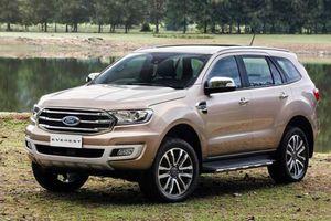 Ford Everest tại Việt Nam giảm giá mạnh