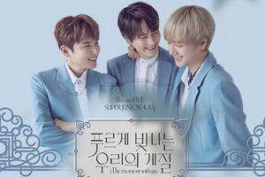 Sau 5 năm chờ 'mòn mỏi', các fan của Super Junior - K.R.Y chính thức có hẹn 'quẩy' concert cùng thần tượng...ngay tại nhà