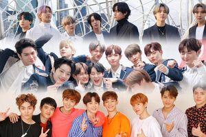 11 nhóm Kpop đạt doanh thu 'triệu bản': BTS vượt xa EXO, Seventeen và Wanna One
