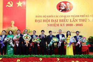 Đại hội đại biểu Đảng bộ Khối các cơ quan thành phố Hà Nội thành công tốt đẹp